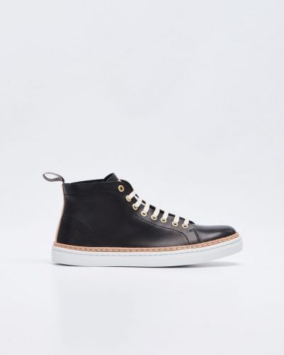 Sneaky Steve Silvermine Hi Leather