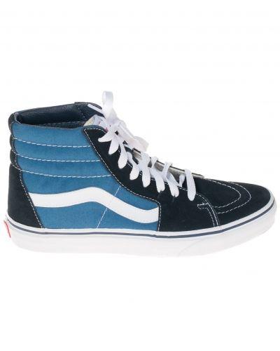 Till herr från Vans, en blå höga sneakers.