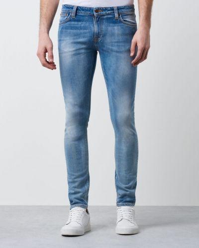 Skinny Lin Clean Stone Nudie Jeans slim fit jeans till herr.