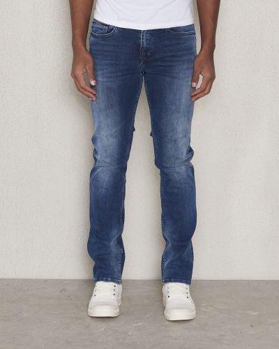 Slim Straight Elastik Calvin Klein Jeans straight leg jeans till herr.