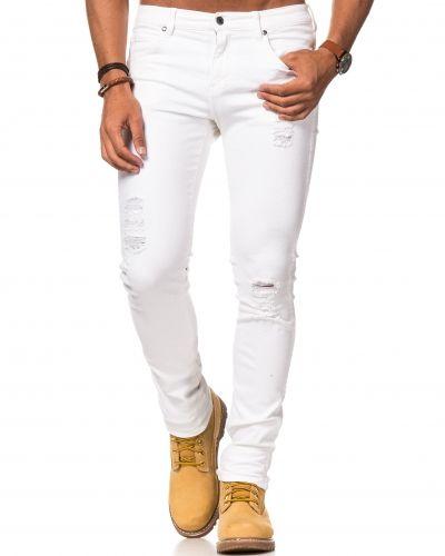 Jeans Snap White Destroyed från Dr.Denim