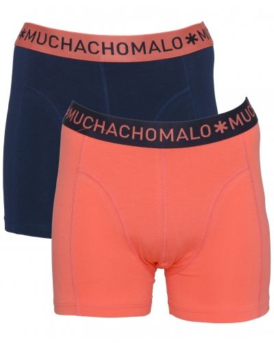 Solid 2-pack 149 Coral Muchachomalo boxerkalsong till herr.