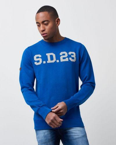 Solo Sport Crew Cobolt Superdry sweatshirts till killar.