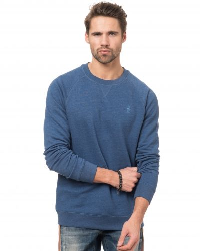 WeSC Soran Crewneck Sweat 66J Blue Depths Melange