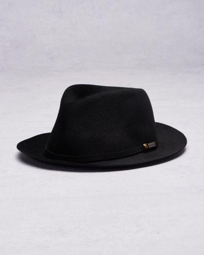 Till herr från Kangol, en svart hatt.