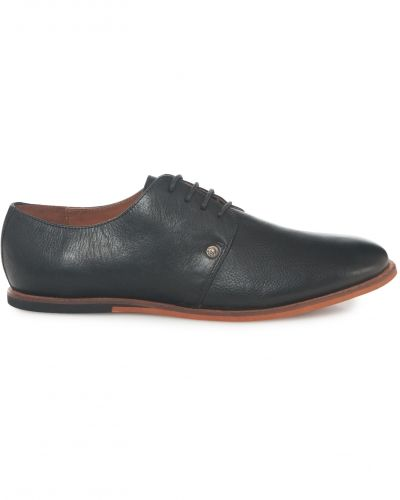Frank Wright Stein Leather Black Shoes
