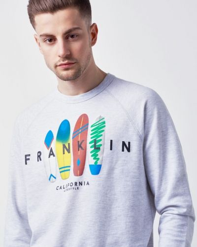 Sweatshirts Surf Sweat Light från Franklin & Marshall