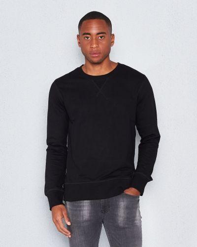 Nudie Jeans Sven Black Sweatshirt
