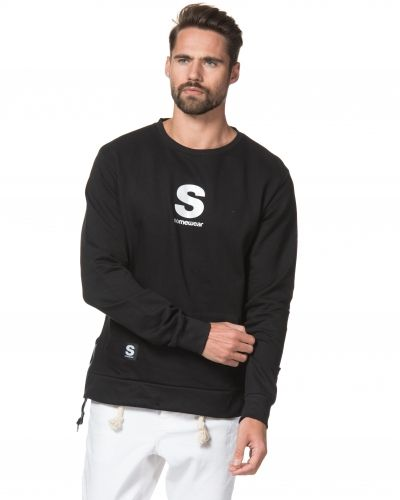Sweatshirts Sweat Zack Black från Somewear