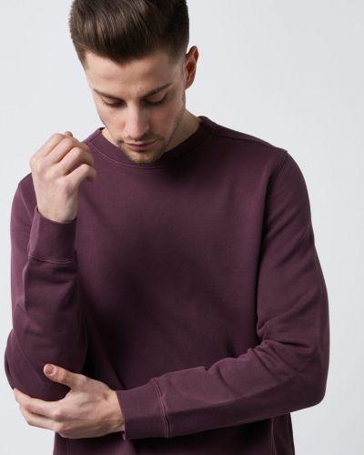 Lila sweatshirts från BLK DNM till killar.
