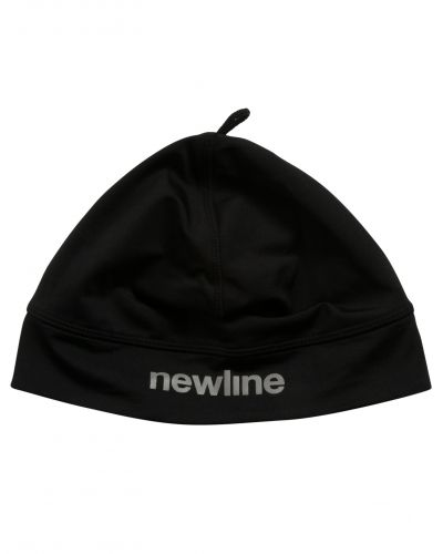 Huvudbonad Thermal Cap 060 Black W/Windprotection från Newline