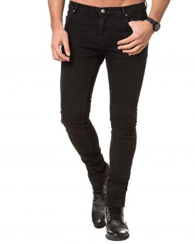 Svart jeans från William Baxter till herr.