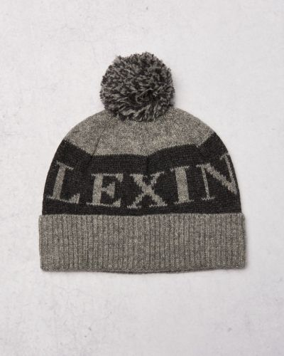 Mössa Toledo Beanie Heather Grey från Lexington