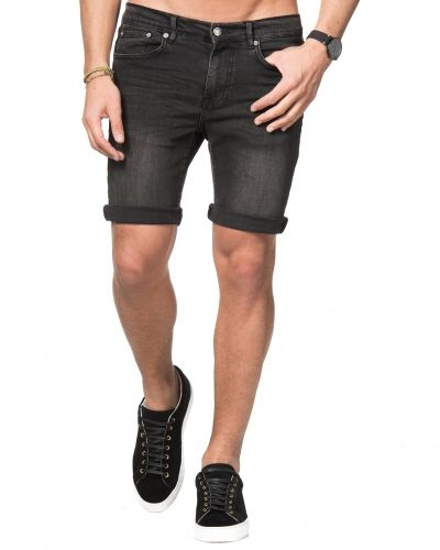 William Baxter Tom Denim Shorts Black Wash