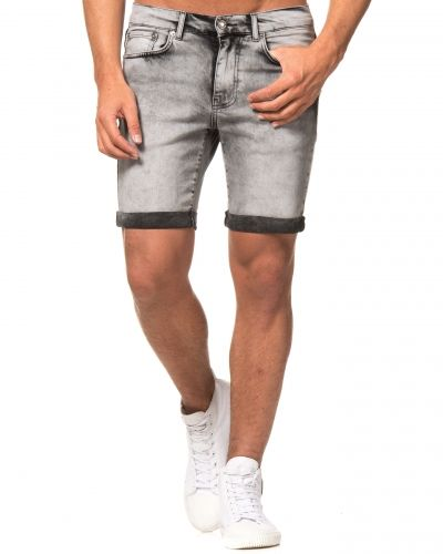 William Baxter Tom Denim Shorts Grey Wash