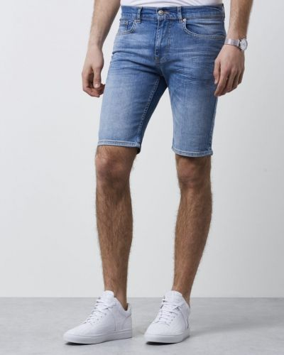 William Baxter Tom Denim Shorts Light Blue Wash