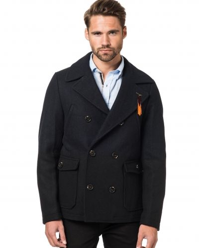 Scotch & Soda Tow Tone Peacoat 58 Night