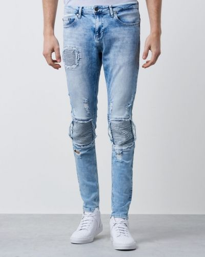 TTA Biker Distressed Denim Acid Things To Appreciate blandade jeans till herr.