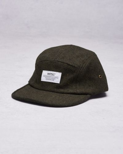 Tweed 5 panel baseball cap Forest WeSC keps till unisex/Ospec..