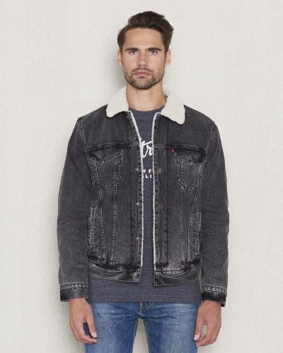 Levis Type 3 Sherpa Trucker Brusted