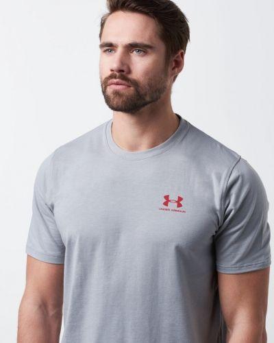 UA Chest Sportstyle Logo Tee 025 True Under Armour t-shirts till herr.