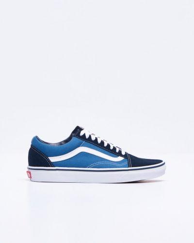 Till herr från Vans, en blå sneakers.
