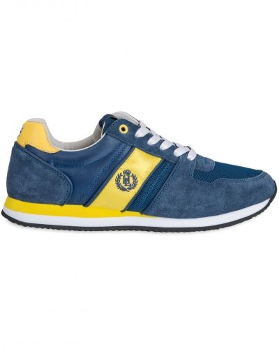 Sneakers Union Runner Navy/Yellow från Henri Lloyd