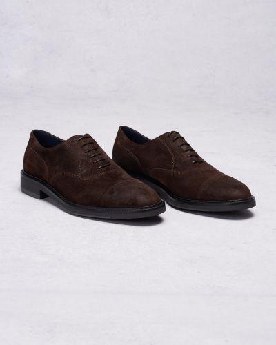 Walter Suede G46 Dark Gant Footwear finsko till herr.