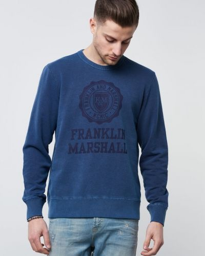 Sweatshirts Washed Logo Sweat från Franklin & Marshall