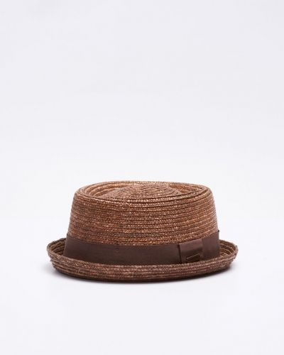 Wheat Braid Porkpie Kangol hatt till herr.