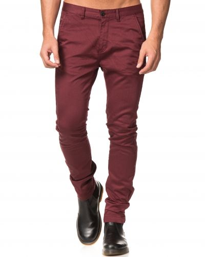 William Baxter Zack Chinos Burgundy
