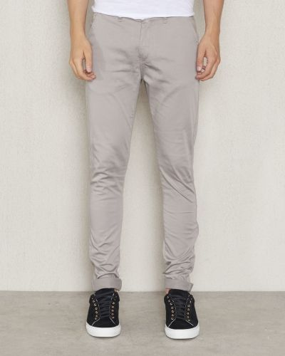 Chinos Zack Slim Chino Grey från William Baxter
