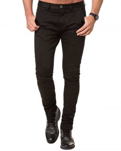William Baxter Zack Slim Chinos Black