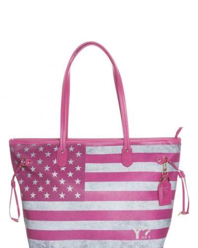 Y Not? ? shoppingväska. Väskorna håller hög kvalitet.