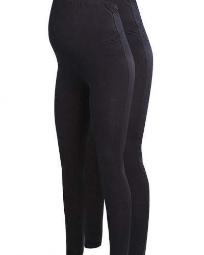 2 pack leggings black Zalando Essentials Maternity leggings till dam.