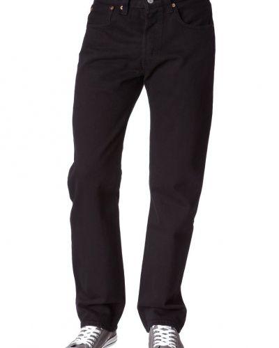 Svart straight leg jeans från Levi's® till herr.