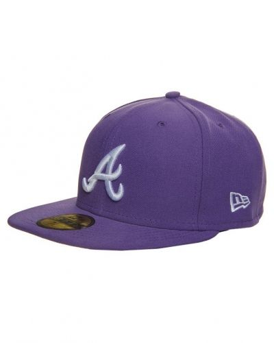 New Era 59FIFTY ATLANTA BRAVES Keps Lila från New Era, Kepsar