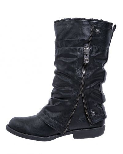 Blowfish ABILENE Cowboy / Bikerboots black Blowfish bikerboots till dam.