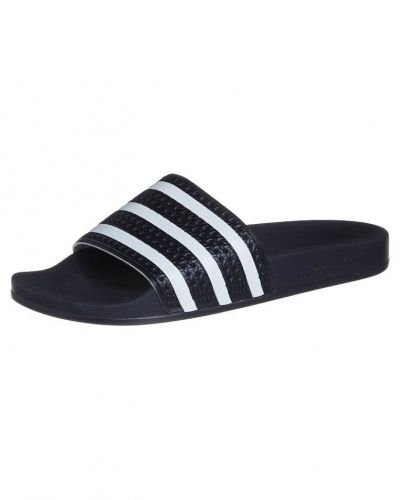 adidas Originals ADILETTE Tofflor & inneskor Svart - Adidas Originals - Badskor