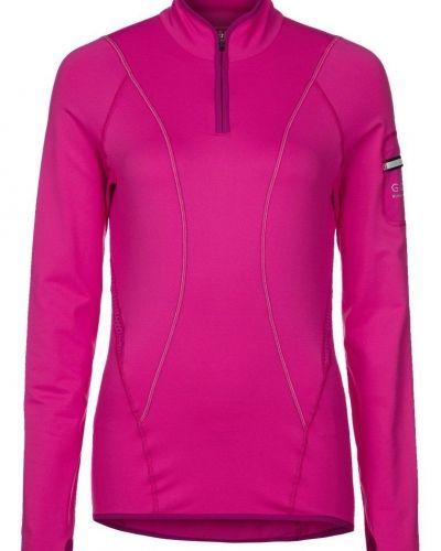 Gore Running Wear AIR LADY ZIP Tshirt långärmad Ljusrosa - Gore Running Wear - Långärmade Träningströjor