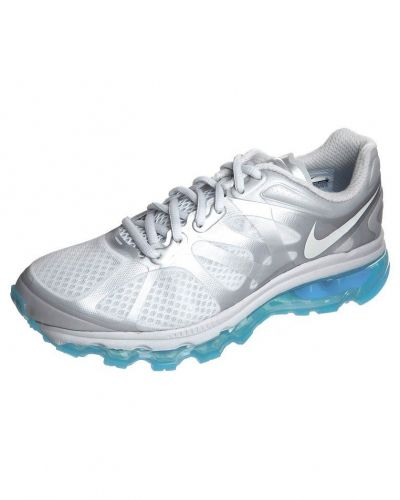 Nike Performance AIR MAX 2012 Löparskor dämpning Silver - Nike Performance - Löparskor