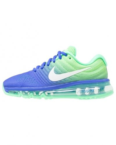 competitive price 76426 40a12 Nike Performance - Air max 2017 bg neutrala löparskor blue white electro  green