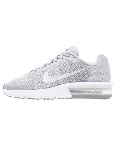 Nike Performance Air max sequent 2 neutrala löparskor wolf grey/metallic silver/cool grey