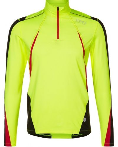 Gore Running Wear Air thermo neon zip tshirt långärmad. Traningstrojor håller hög kvalitet.