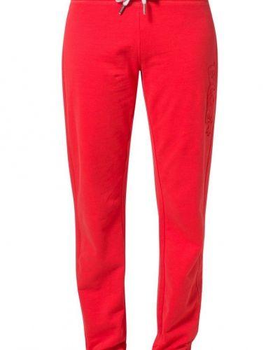 Blue Sportswear ALFA PIMA Träningsbyxor Rött - Blue Sportswear - Träningsbyxor med långa ben