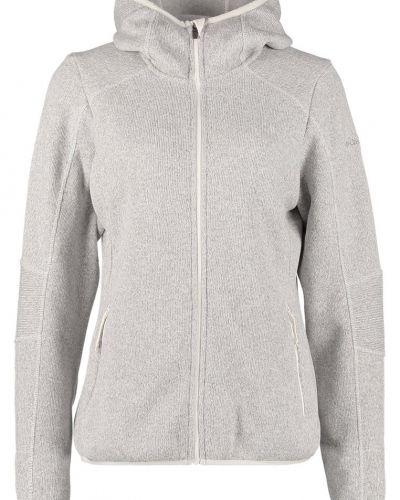 Till dam från Columbia, en grå zip-tröja.