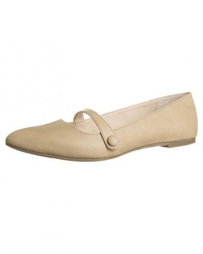 Anna Field Anna Field Ballerinas med remmar beige