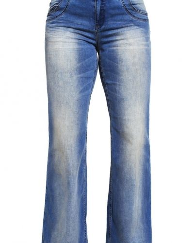 Zizzi Zizzi ANNA Flared jeans blue denim
