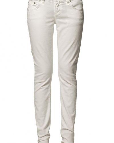 Vit slim fit jeans från LTB till dam.