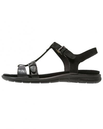 Babett sandaler & sandaletter black ECCO remsandalett till dam.